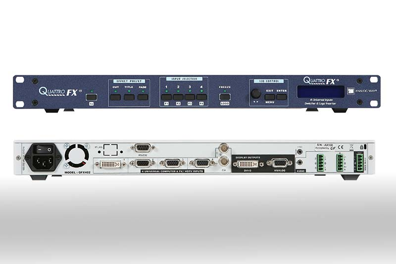 Analog Way QFX-402 QUATTRO-FX