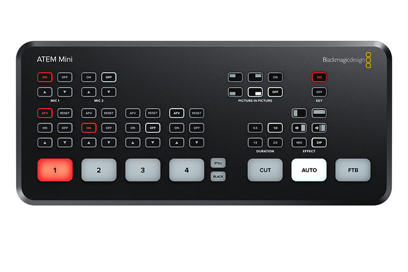 Blackmagic ATEM Mini Streaming mieten