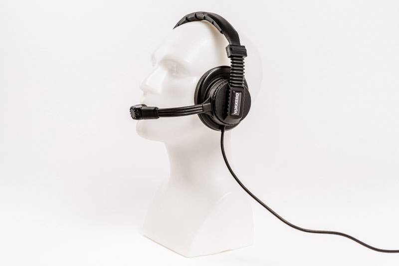 Vokkero MAE 410 Pro Audio Single Muff Headset